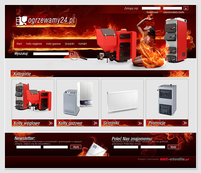 Miniatura: Sklep internetowy Ogrzewamy24.pl